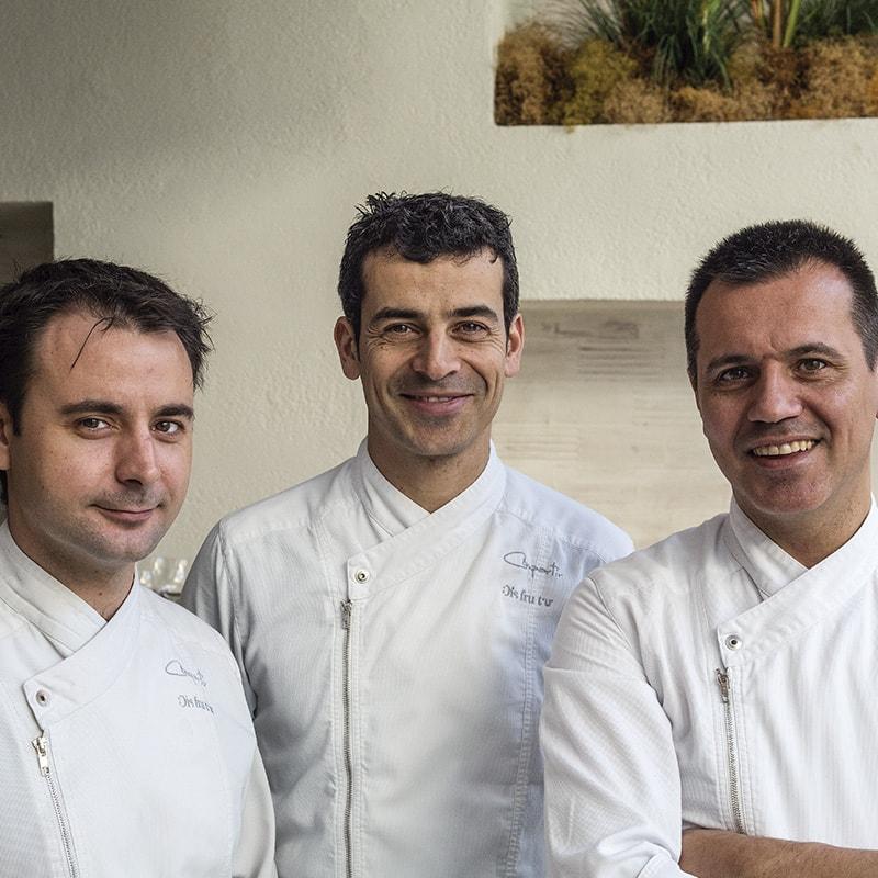 Eduard Xatruch, Oriol Castro y Mateu Casañas